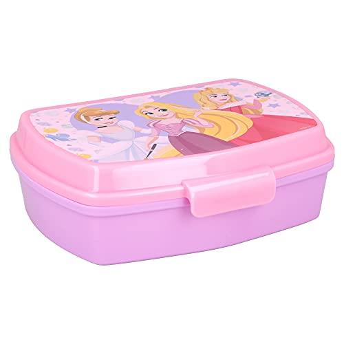   Princesas Disney   Sandwichera Para Niños Decorada - Fiambrera Infantil   Caja Para El Almuerzo Y...