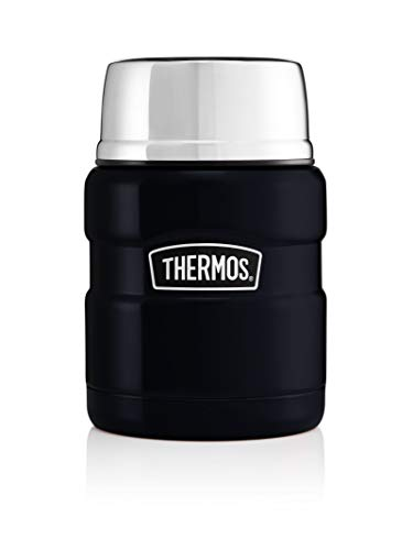 Thermos Stainless King Food - Fiambrera térmica (0,47 L), color azul