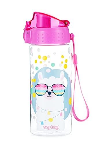 Botella de agua a prueba de fugas para niños, botella de agua a prueba de roturas, ligera, de...